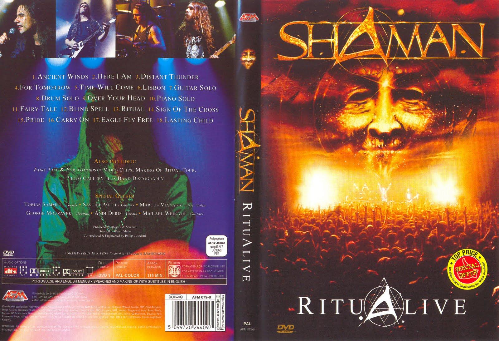 dvd ritualive 2003